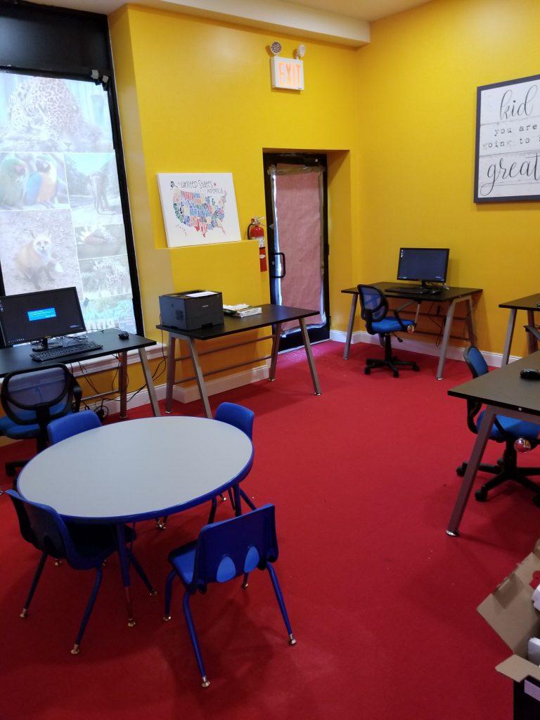 Broadway Childrens Computer Room