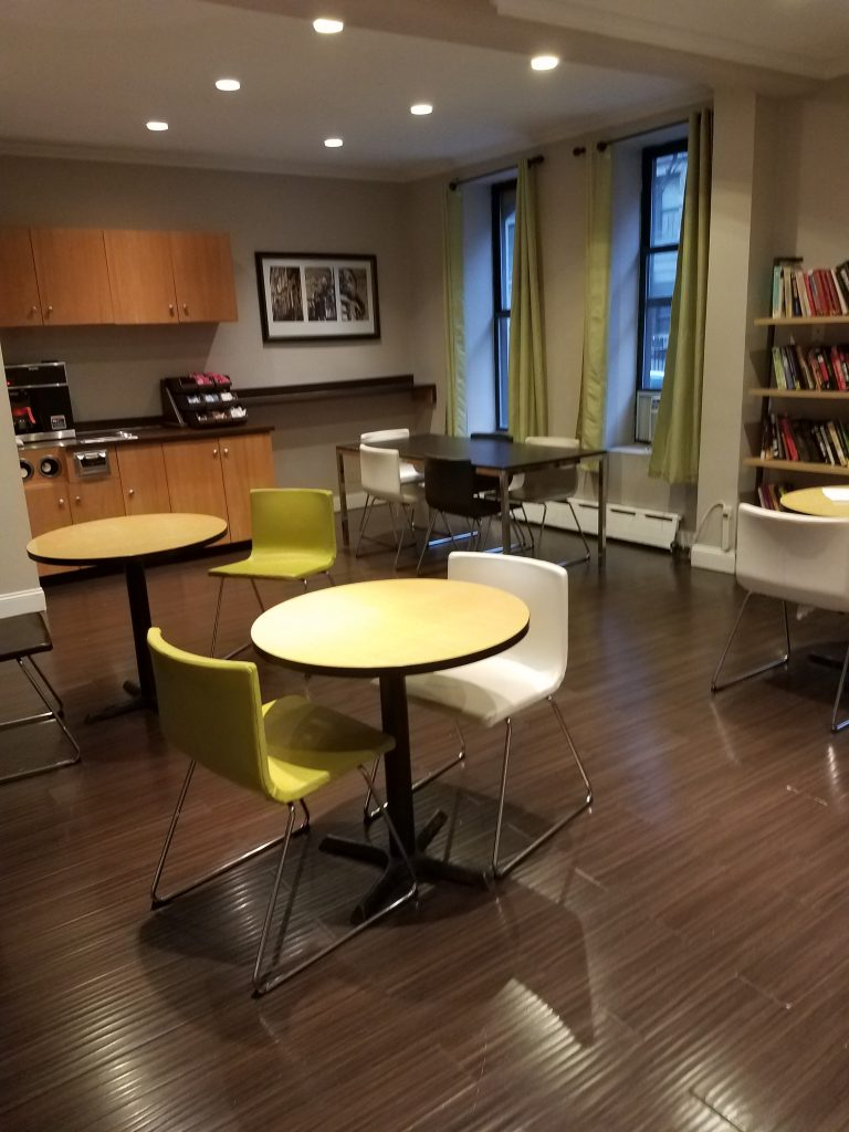 Client Dining Area