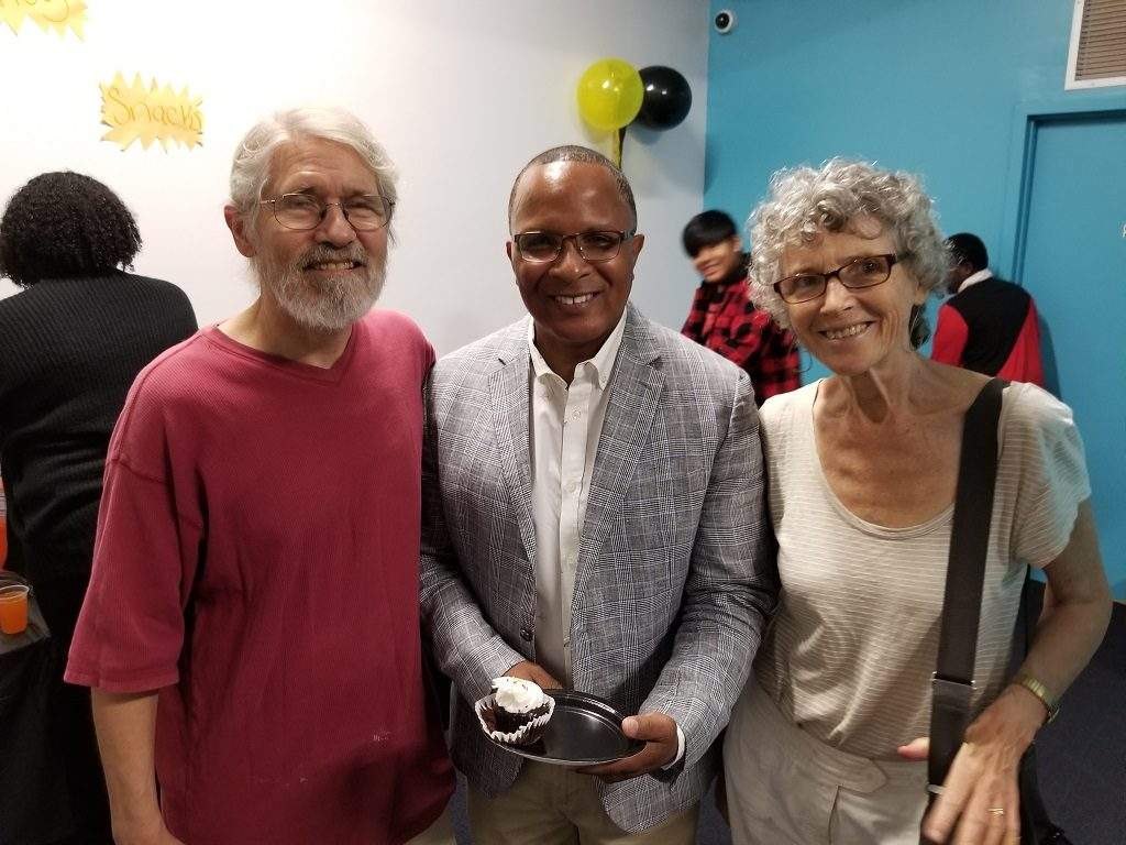 Anne Gibbons, Ivan Braun and Andre Coleman