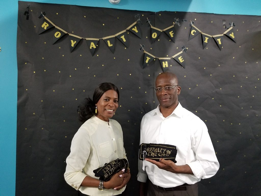 Althea Bailey and William Eric Waters
