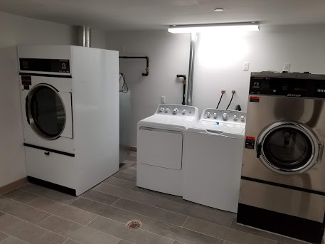 Client's laundry room